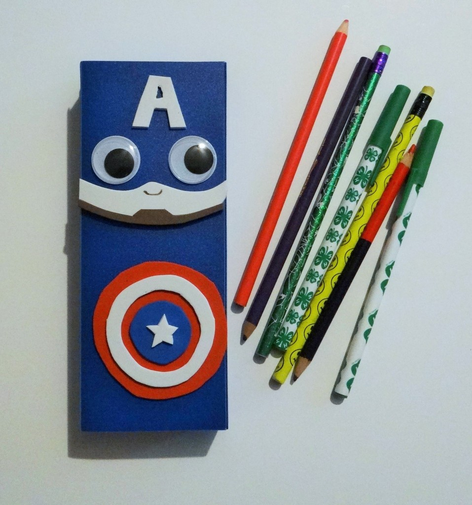 Quick and Easy Superhero Pencil Case Craft for Kids