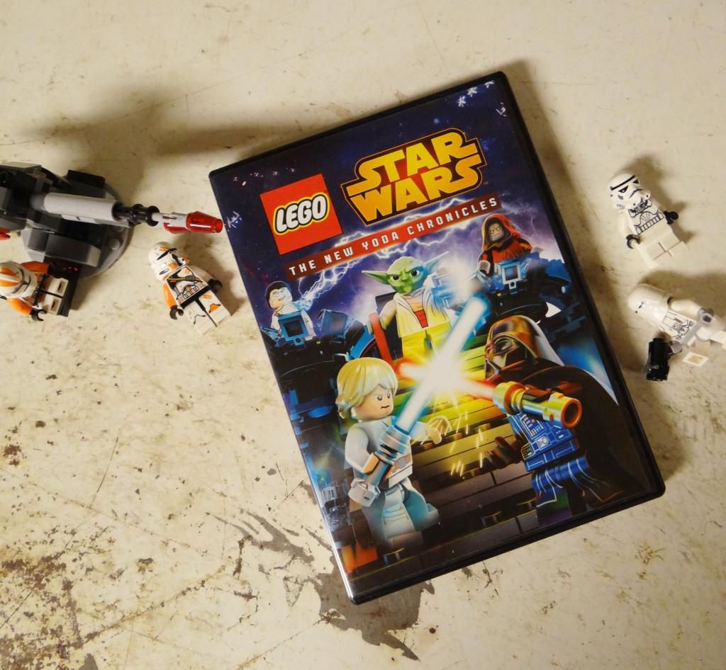 Lego Star Wars: The New Yoda Chronicles on DVD 9/15