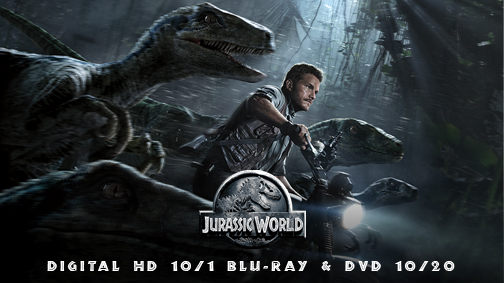 Jurassic World Digital HD Prize Pack Giveaway #TeamJurassic #JurassicWorld