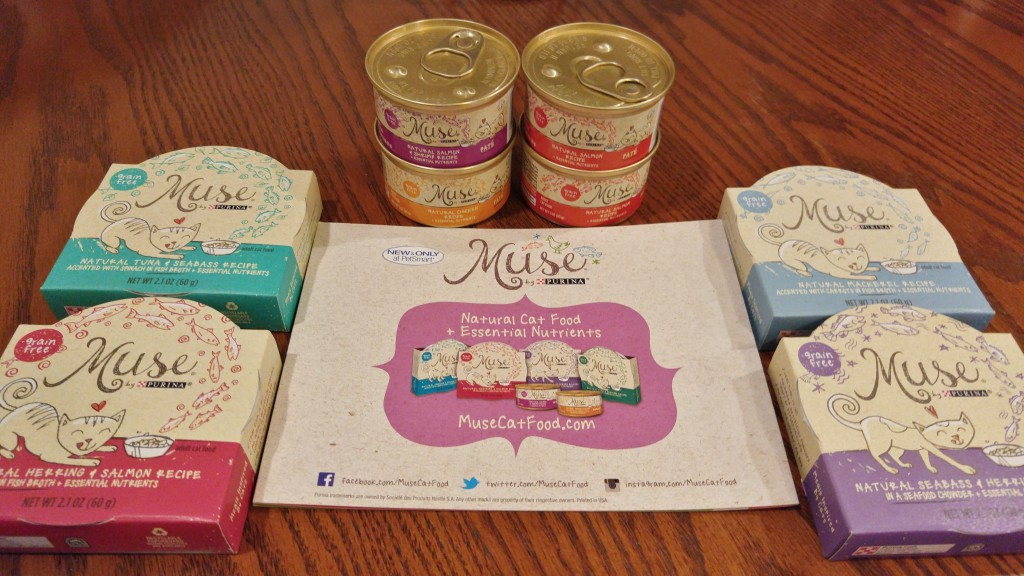 Purina Muse cat food #MyCatMyMuse