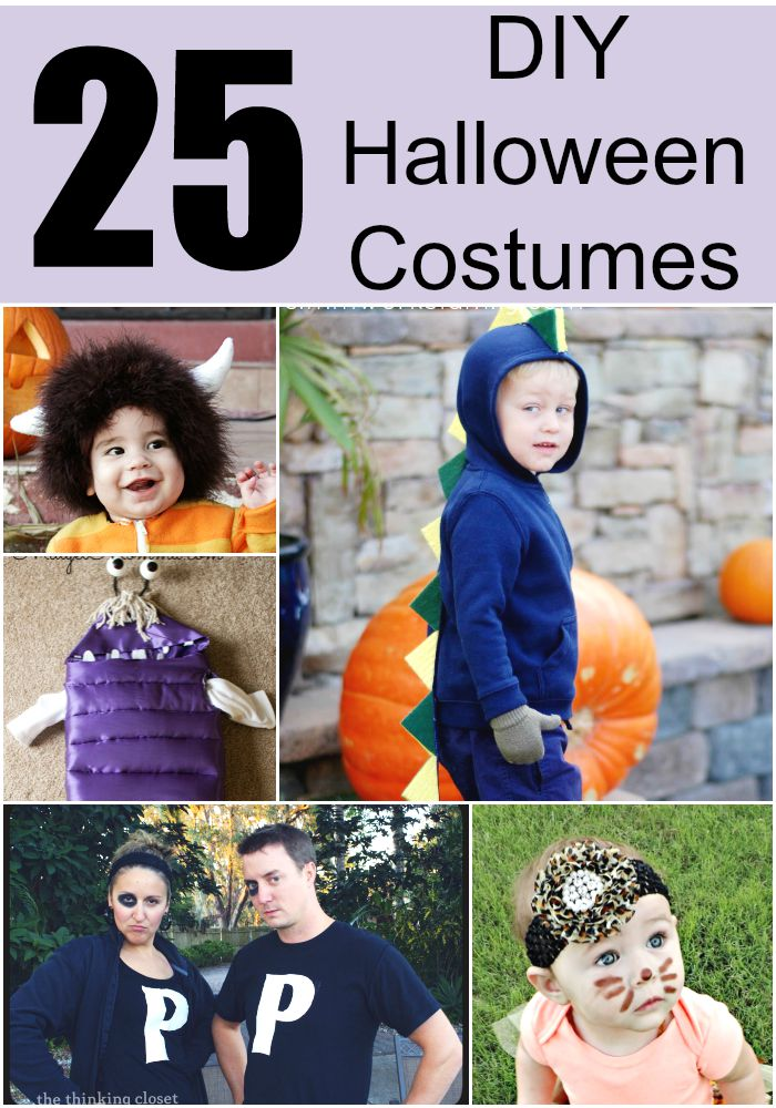 25 Adorable DIY Halloween Costumes