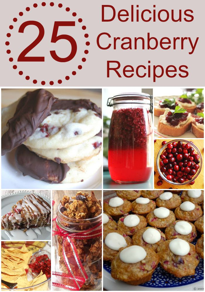 25 Delicious Cranberry Recipes for the Holidays