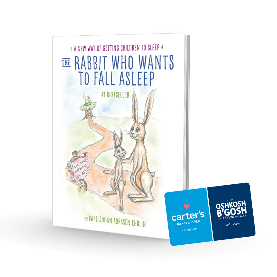 The Rabbit Who Wants to Fall Asleep Prize Pack #Giveaway #RabbitGoToSleep