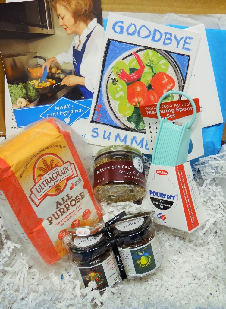 Wouldn't you love to receive a gourmet surprise?   Mary's Secret Ingredients