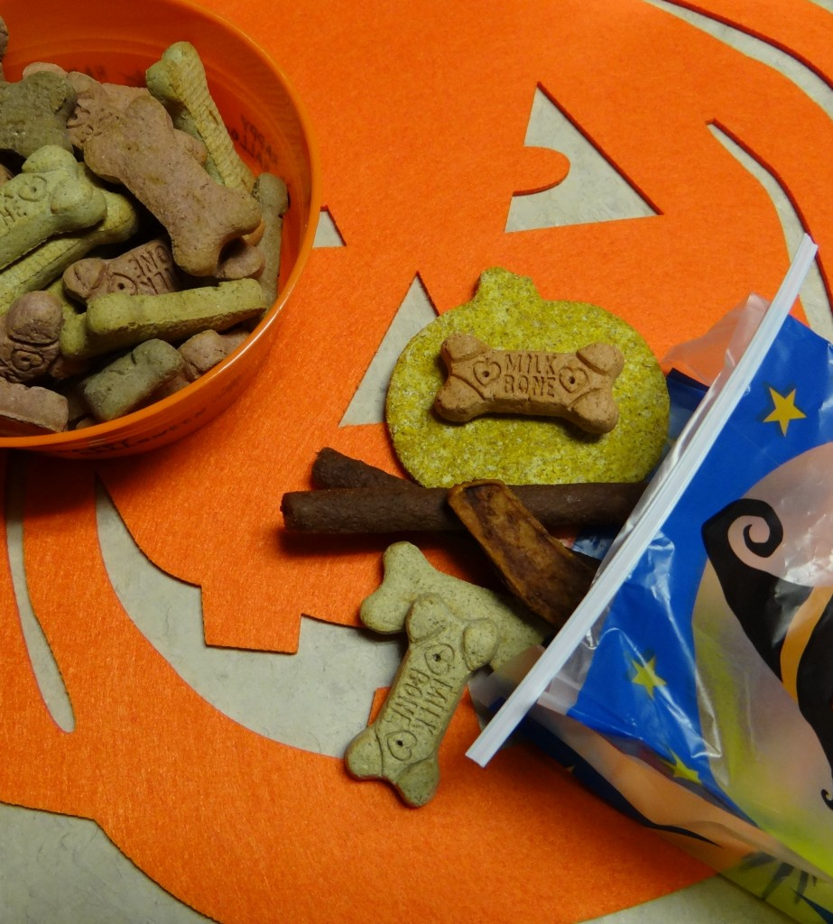 Halloween Pumpkin Peanut Butter Dog Treats Recipe #TreatThePups