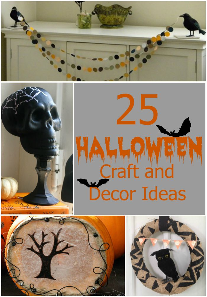 25 Quick and Easy Halloween Home Decor Crafts