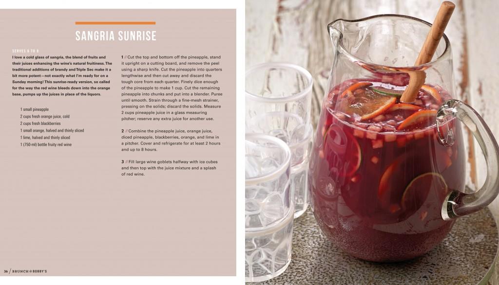 Sangria Sunrise Recipe - Brunch @ Bobby's - Bobby Flay