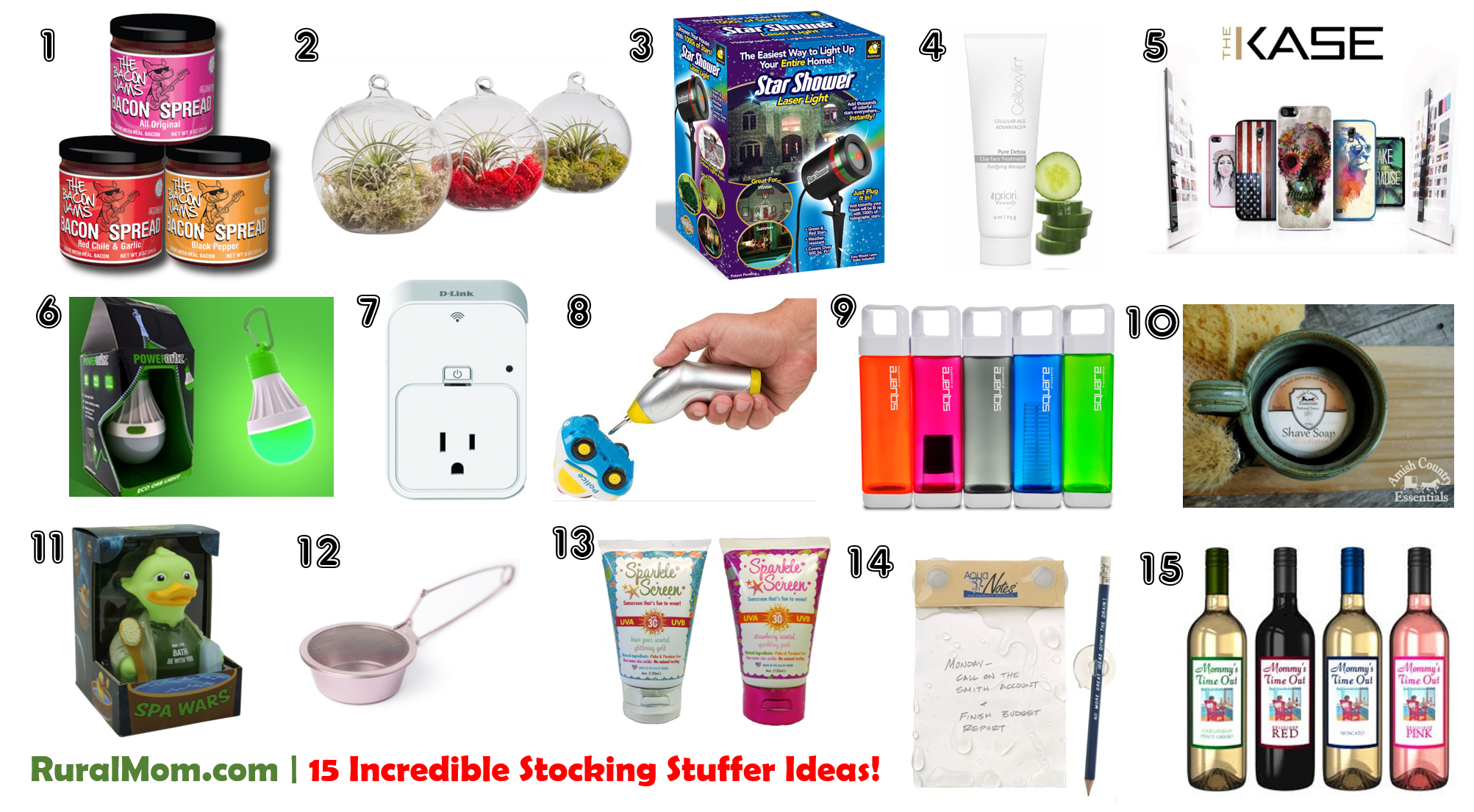 Following Are Rural Mom S Top Picks For Stocking Stuffers There Is Something Everyone On This List I M Sure You Ll Find A Few Great Ideas The