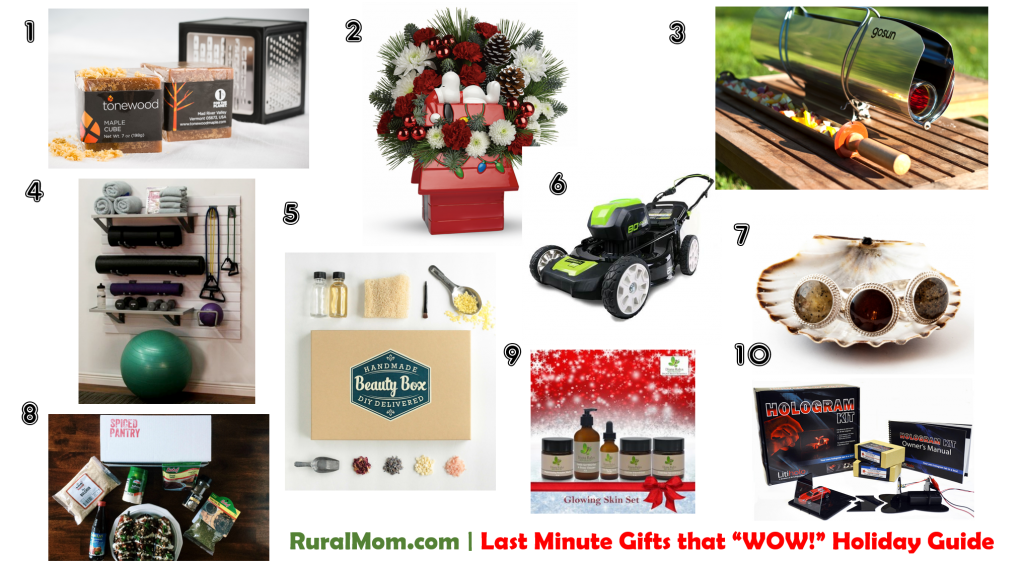 Rural Mom 2015 Last Minute Gifts that Wow