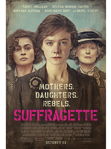 What are you most thankful for? #fightsnotover #Suffragette