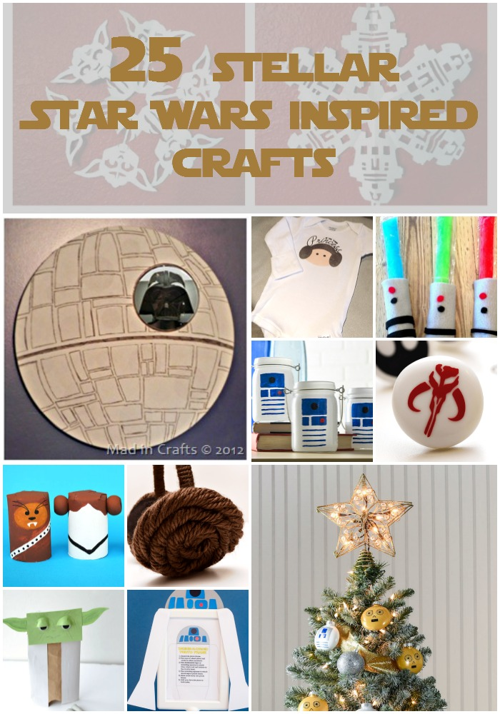 25 Stellar Star Wars Craft Ideas