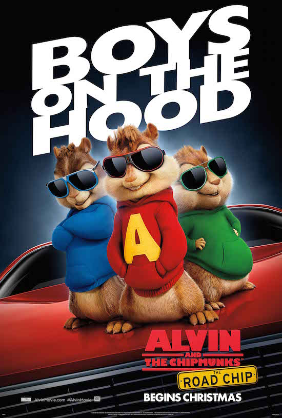 Alvin and the Chipmunks: The Road Chip #AlvinMovie