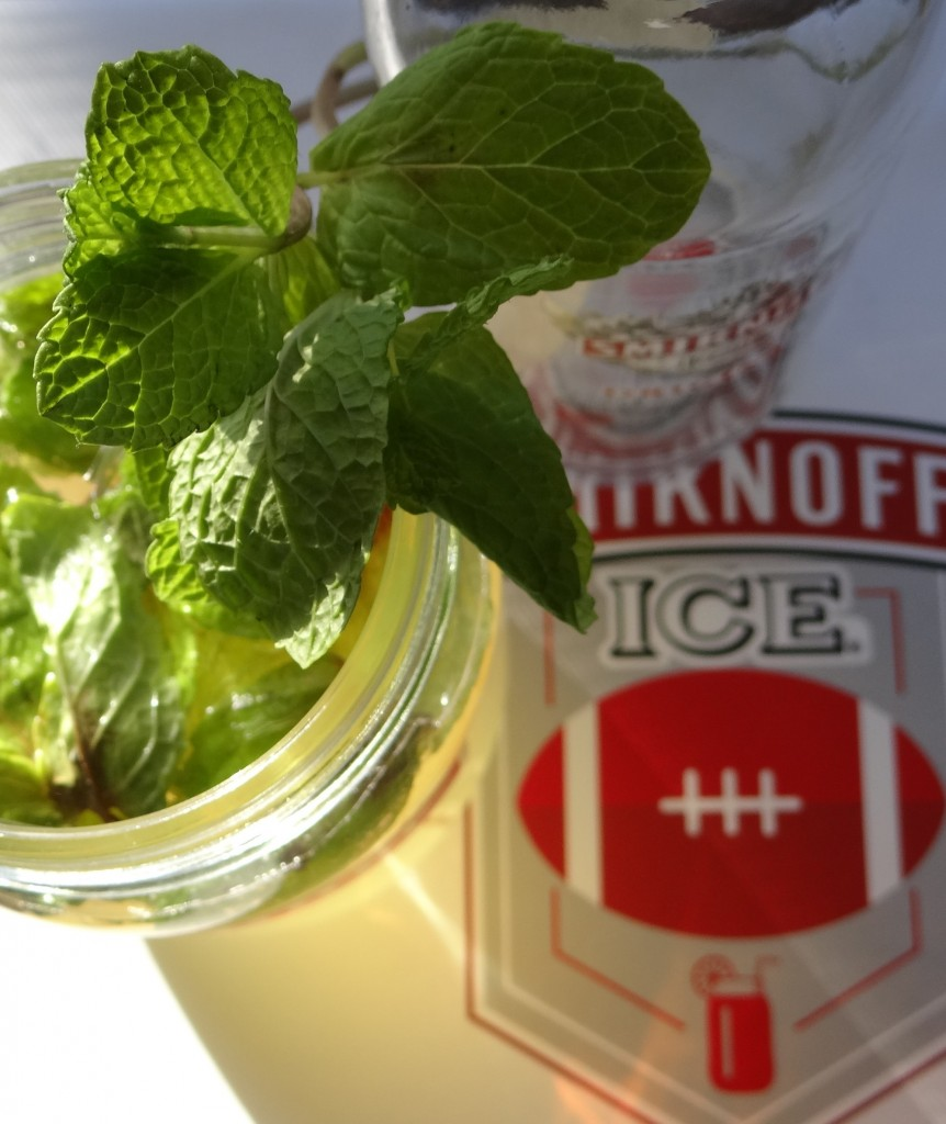 Smirnoff Ice Original Julep Recipe #GameDayReady