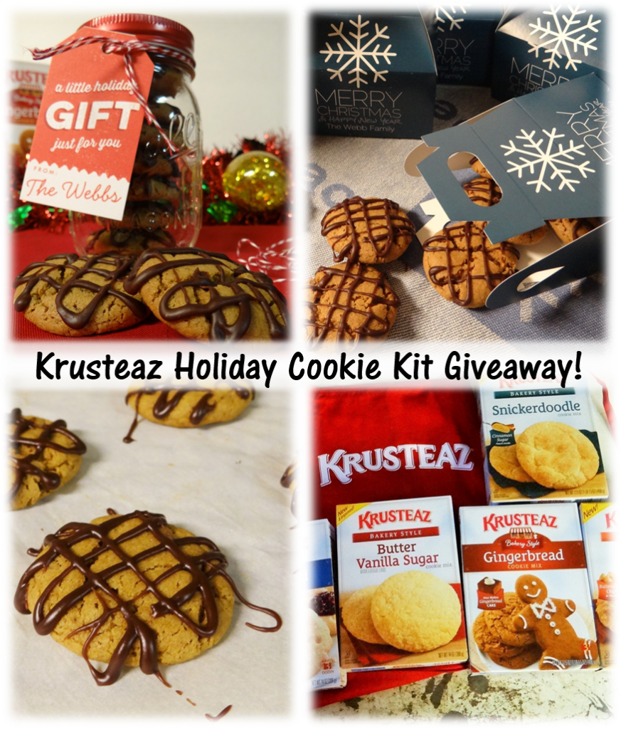 Krusteaz Holiday Cookie Kit Giveaway #mykrusteaz #spreadcookiejoy
