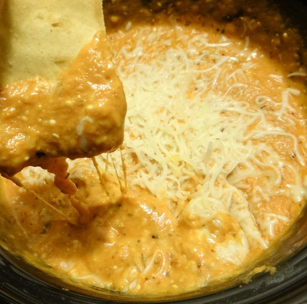 Game Day Slow Cooker Pizza Dip Recipe