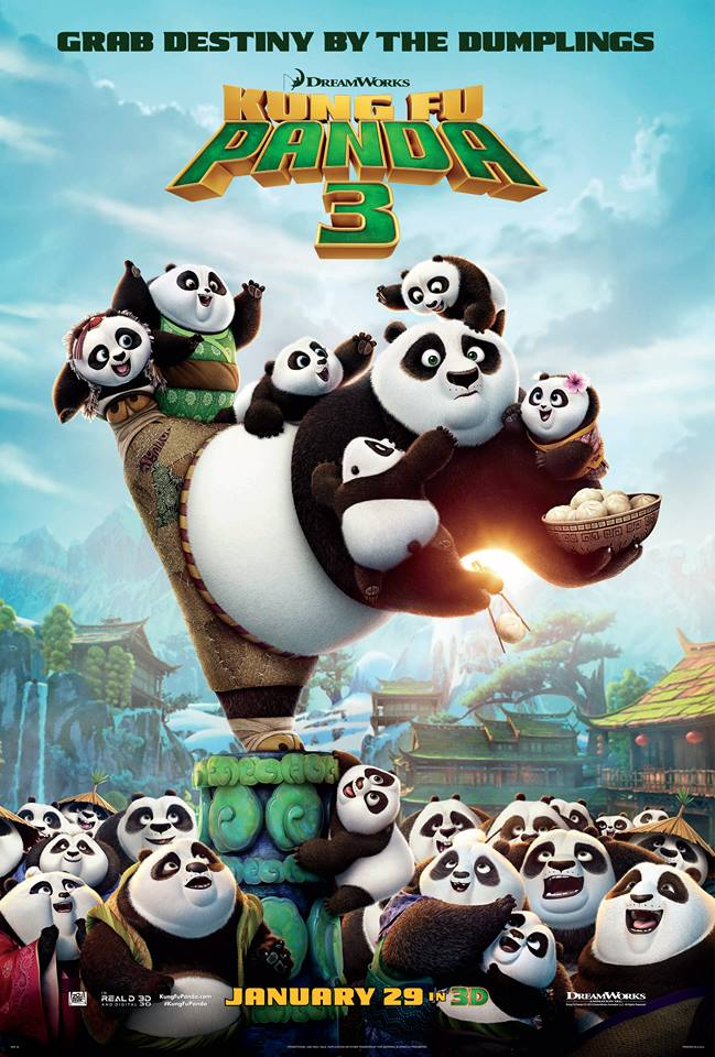 Kung Fu Panda 3 Activities and Coloring Pages - Po is Back! #KungFuPanda