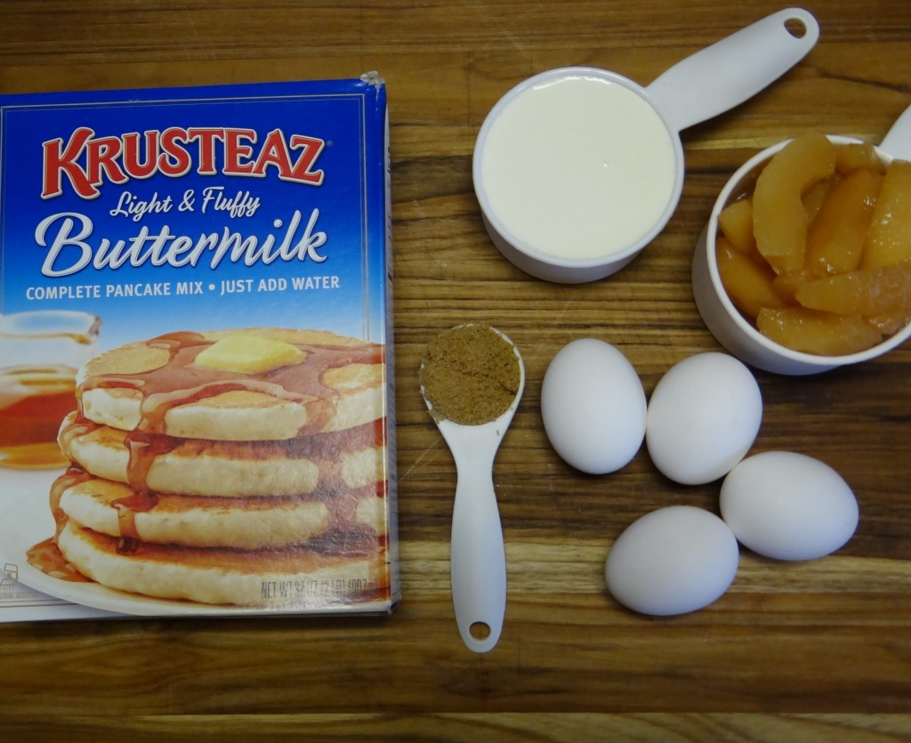 Breakfast Night Ideas | Skillet Apple Pancake Puff