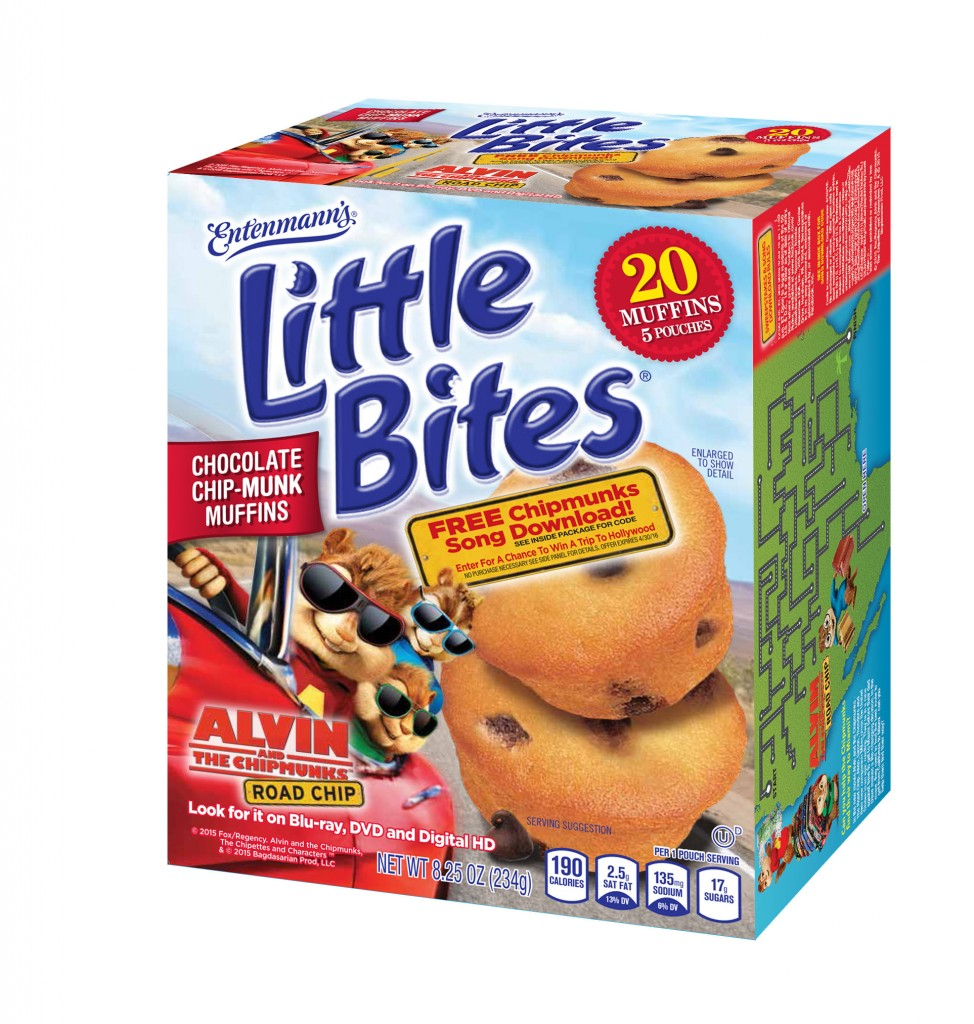ALVIN!!!!  It's time for a Little Bites Chocolate Chip-Munk Muffins Giveaway!