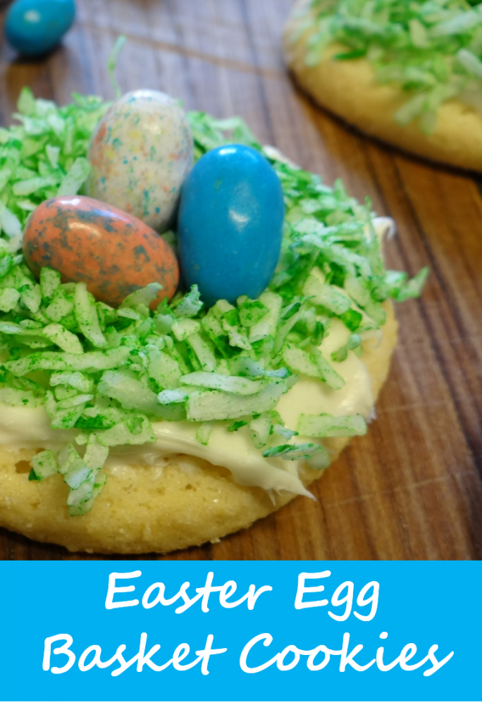 Easter Egg Basket Cookies | Tastefully Simple Easter Menu