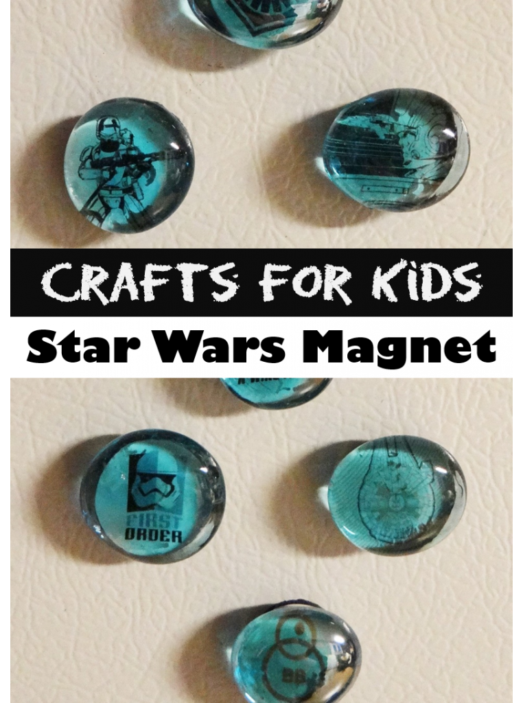 Quick and Easy Crafts for Kids - Star Wars Magnets