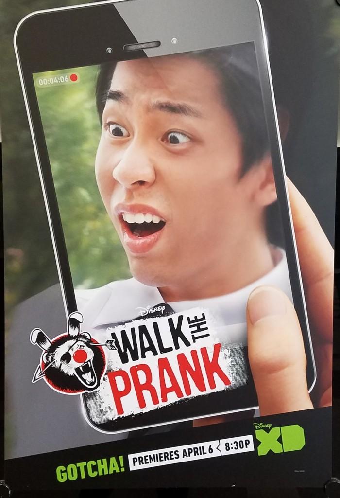On the set of Walk The Prank #JungleBookEvent #WalkThePrank
