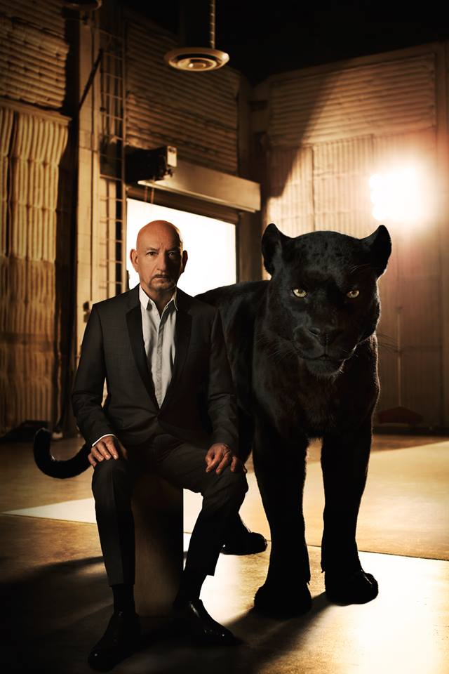 The Voice of Bagheera, exclusive interview with Sir Ben Kingsley #JungleBookEvent