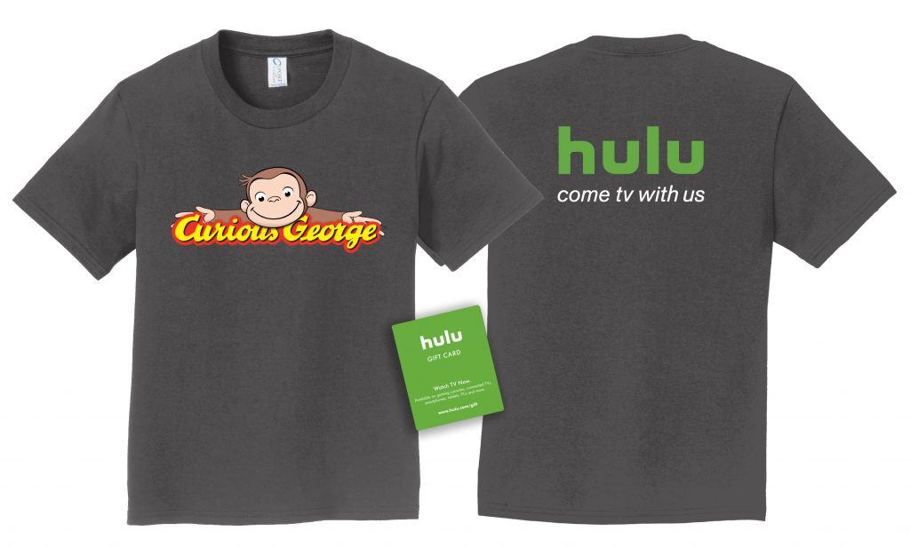 Curious George is now on Hulu! #Giveaway #CuriousGeorgeonHulu