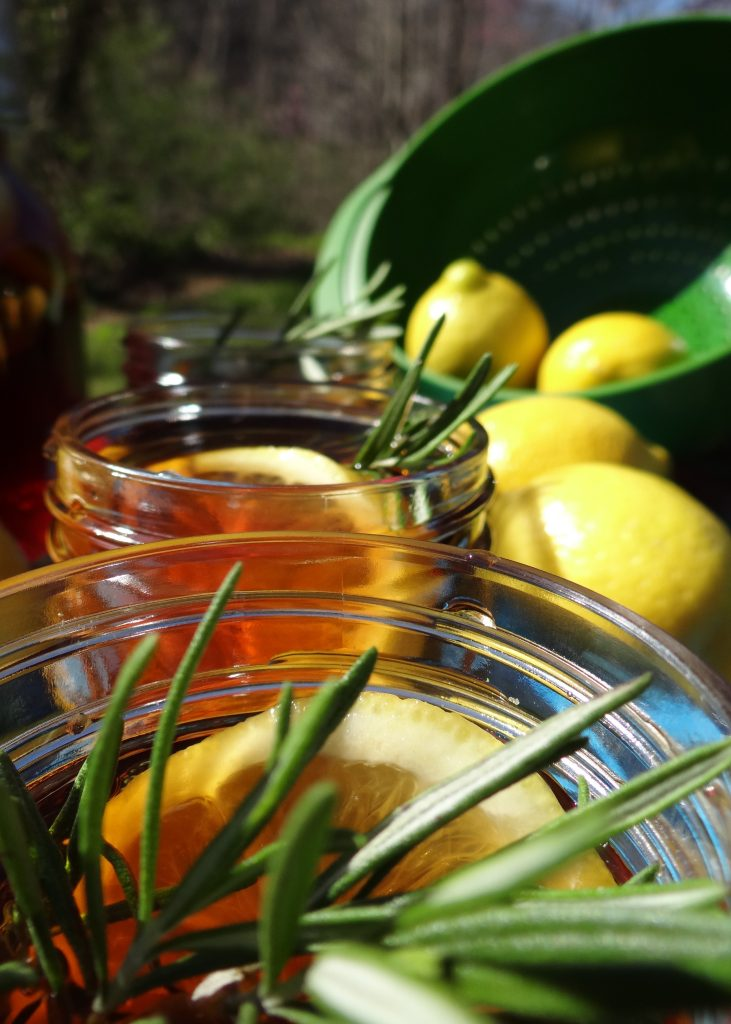 What's Your Southern Tea Style? #EmbraceYourTaste Sweet Tea with Lemon and Rosemary Recipe
