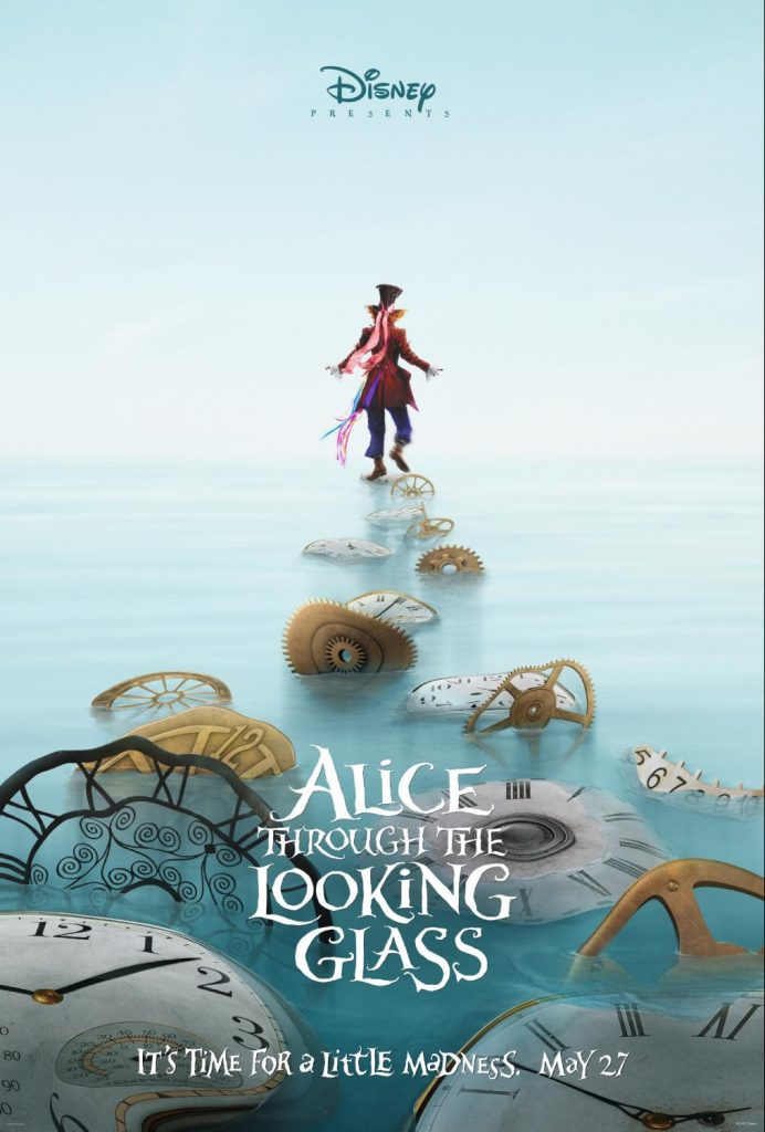 Alice Through The Looking Glass Activity Sheets and Tea Cup Planter Craft #ThroughTheLookingGlass