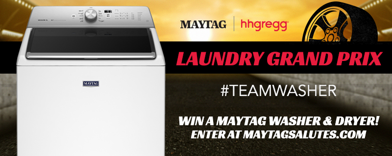 Would you love to win a Maytag Laundry Duo or hhgregg Gift Card? #TeamWasher #TeamDryer