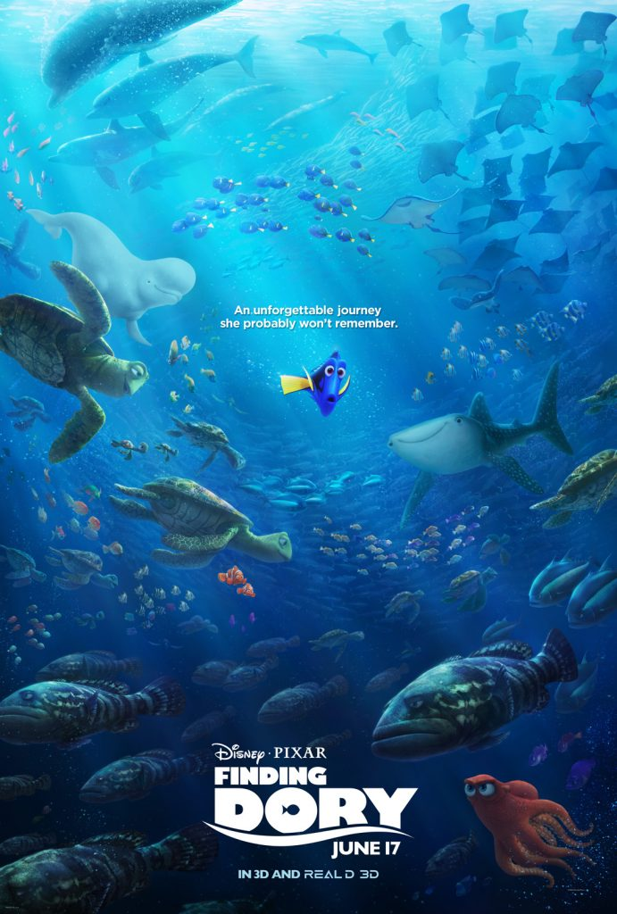Free FINDING DORY Activity Sheets #FindingDory #HaveYouSeenHer