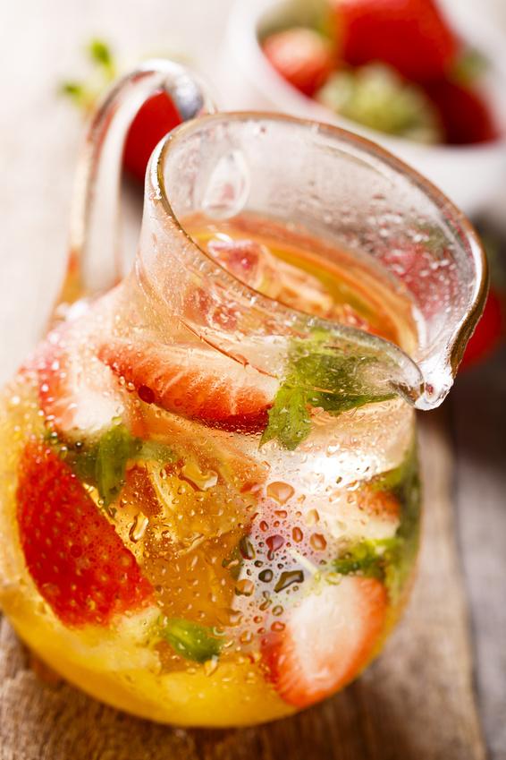 Strawberry Mint Sangria