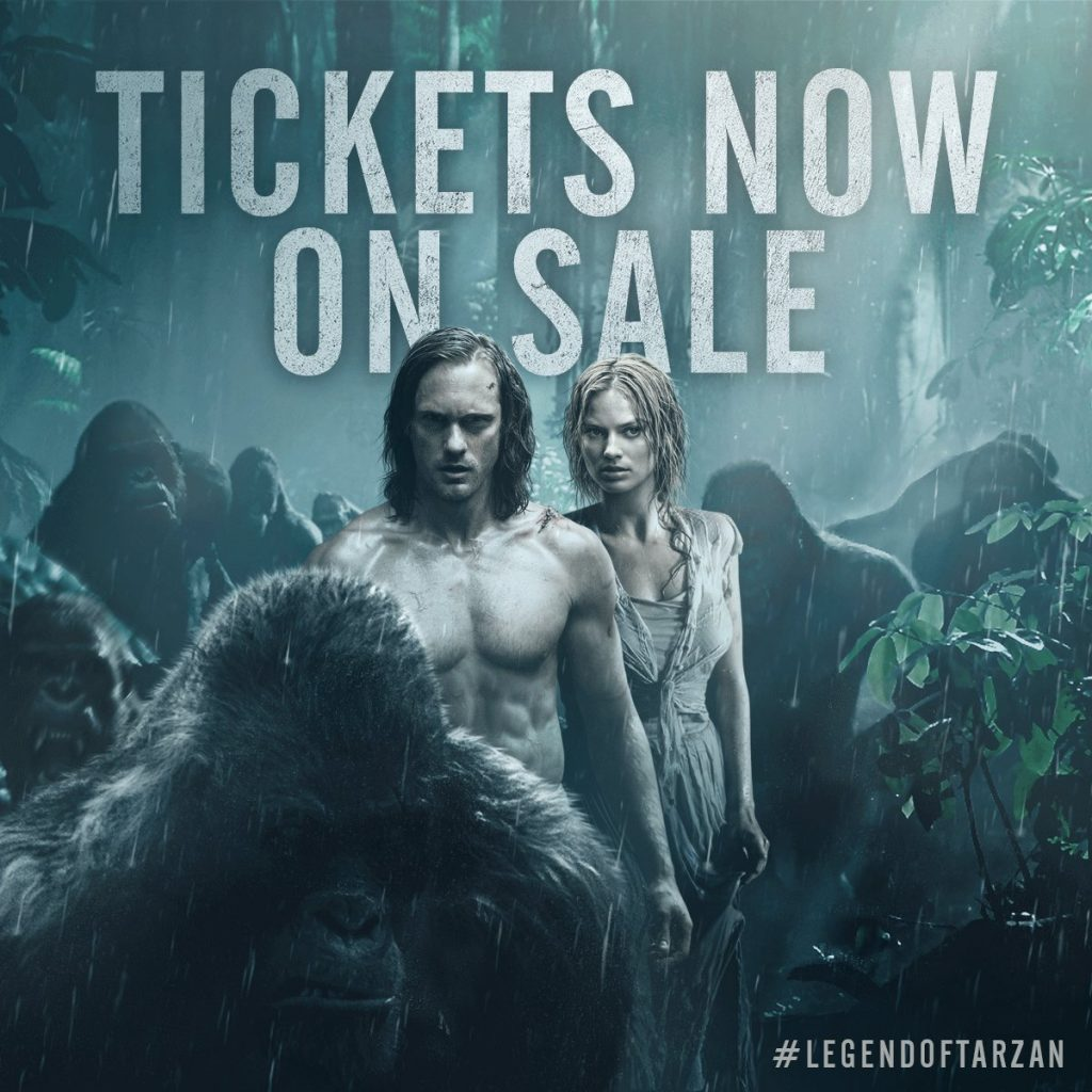 The Legend of Tarzan Giveaway #LegendofTarzan