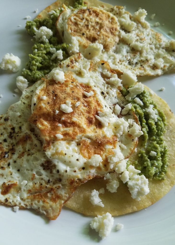 Fried Eggs with Romesco from Sun Basket