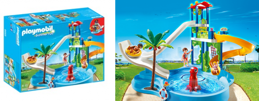 Bring You Summer Adventure Home with PLAYMOBIL Water Park