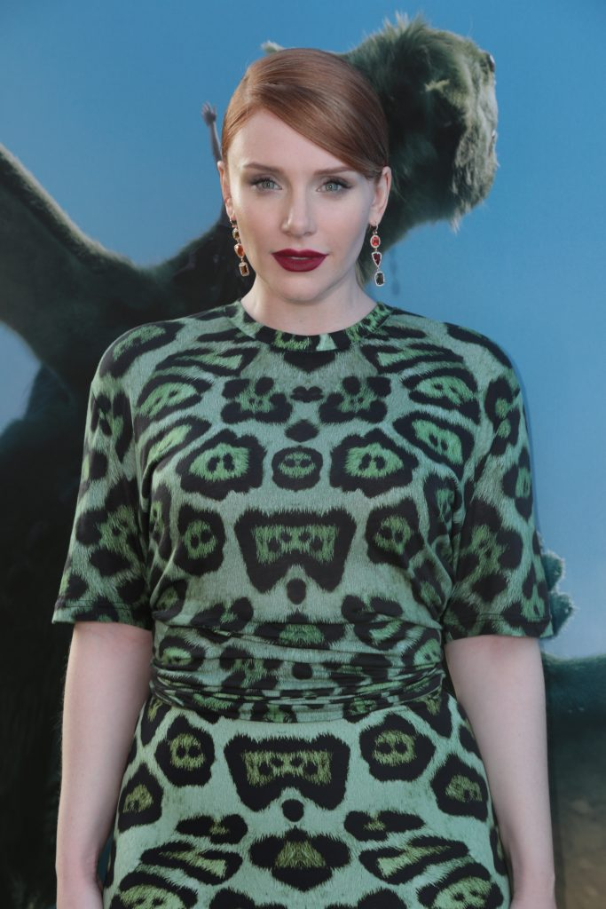 Bryce Dallas Howard arrives at the world premiere of DisneyÕs PeteÕs Dragon at the El Capitan Theater in Hollywood on August 8, 2016. The new film, which stars Bryce Dallas Howard, Robert Redford, Oakes Fegley, Oona Laurence, Wes Bentley and Karl Urban and is written and directed by David Lowery, has been drawing rave reviews from both audiences and critics. PeteÕs Dragon opens nationwide August 12, 2016..(Photo: Alex J. Berliner/ABImages)