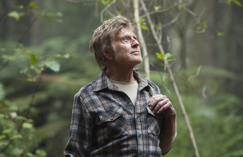 Robert Redford is Mr. Meacham in Disney's PETE'S DRAGON, the story of a boy named Pete and his best friend Elliot, who just happens to be a dragon.