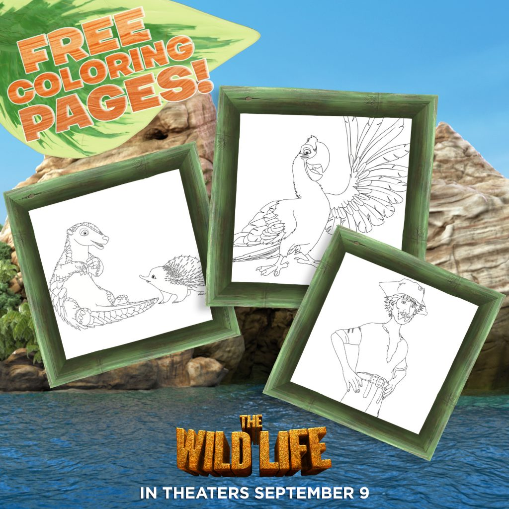 THE WILD LIFE Printables and Preview #TheWildLife