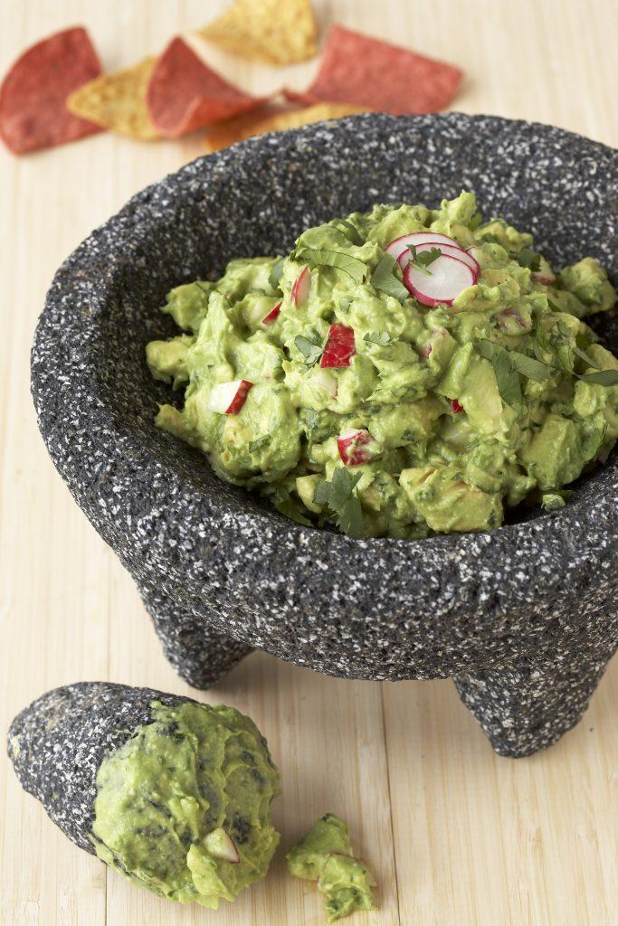 Crunchy Herbed Guacamole Recipe