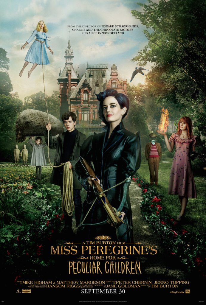 Miss Peregrine's Home for Peculiar Children Giveaway! #StayPeculiar