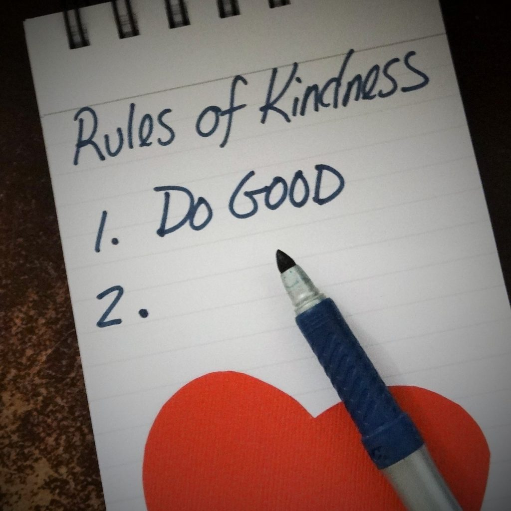 How will you create your Rules of Kindness? #RulesofKindness