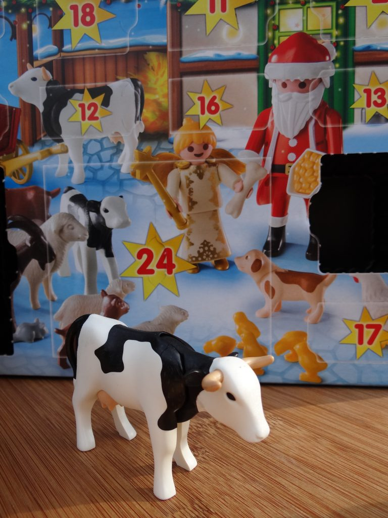 PLAYMOBIL Christmas On The Farm Advent Calendar for Kids