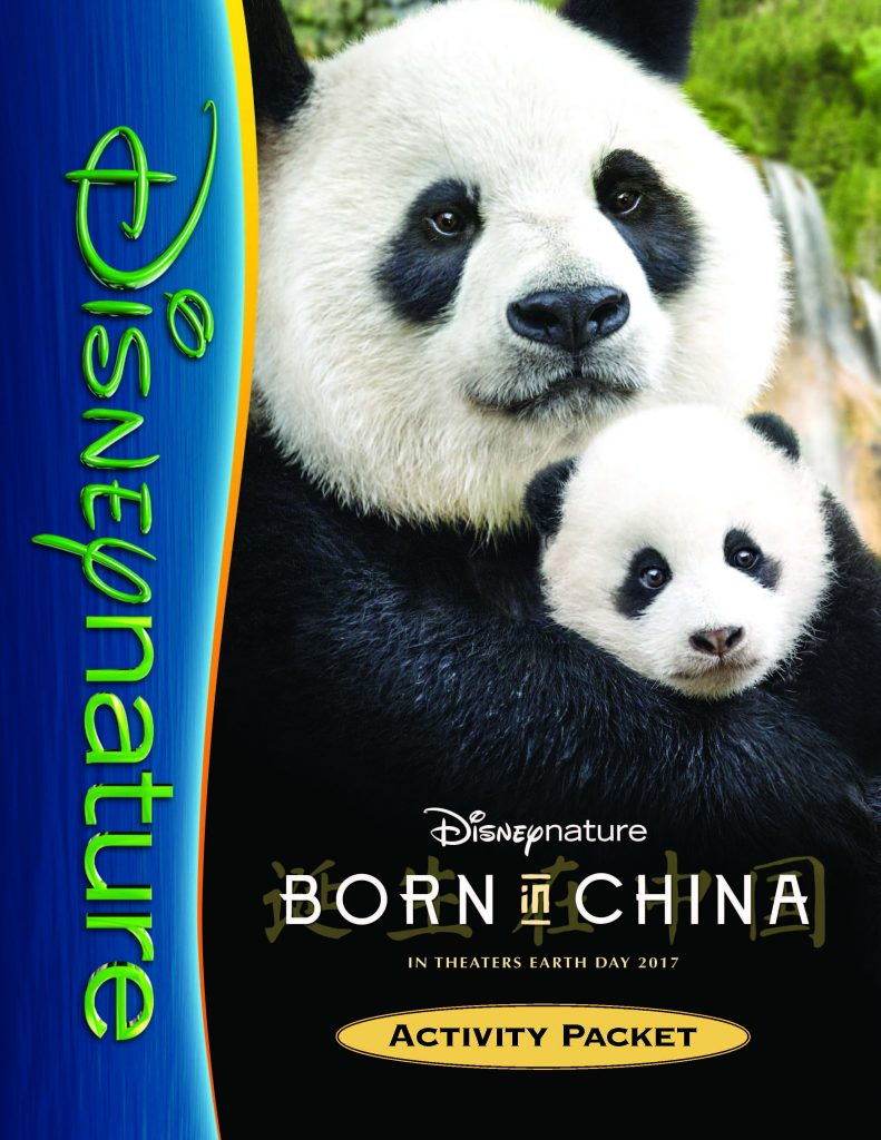 Disneynature BORN IN CHINA Activity Packet