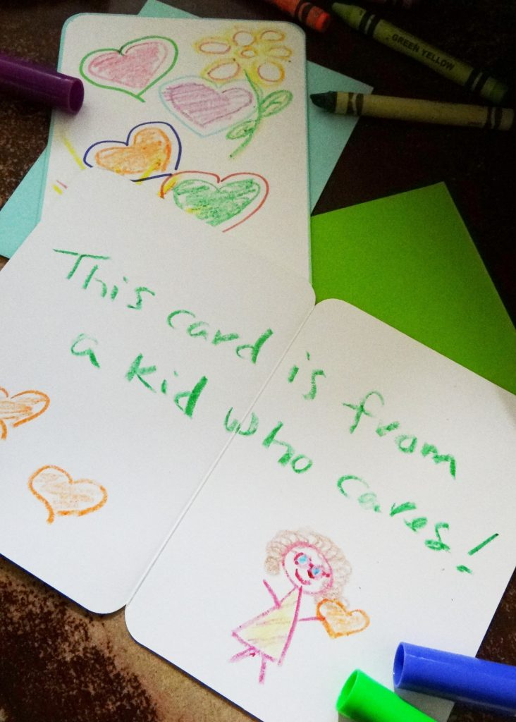 Joy Maker Challenge Caring Cards