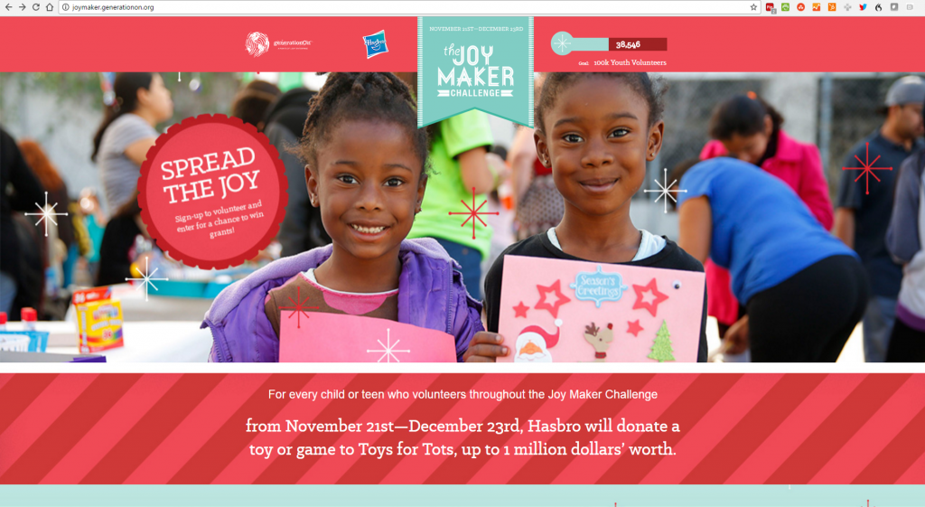 Help Your Child to Spread Joy with the Joy Maker Challenge #JoyMaker #BFBK