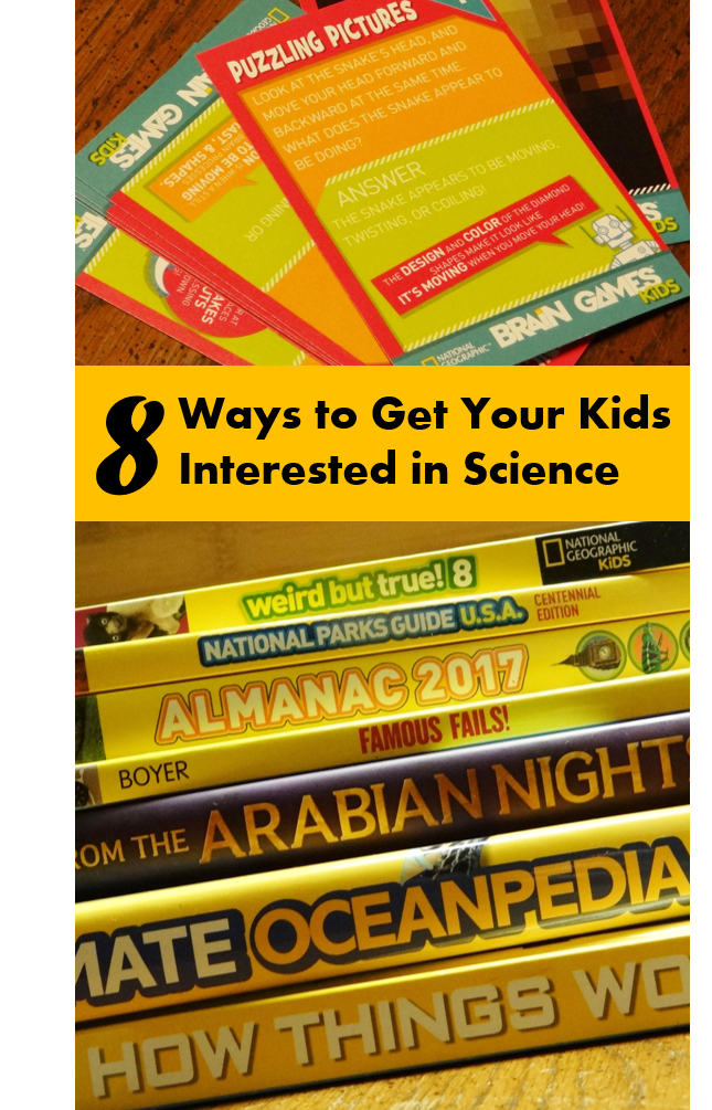 8 Ways to Get Your Kids Interested in Science