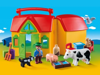 PLAYMOBIL 1.2.3. My Take Along Farm