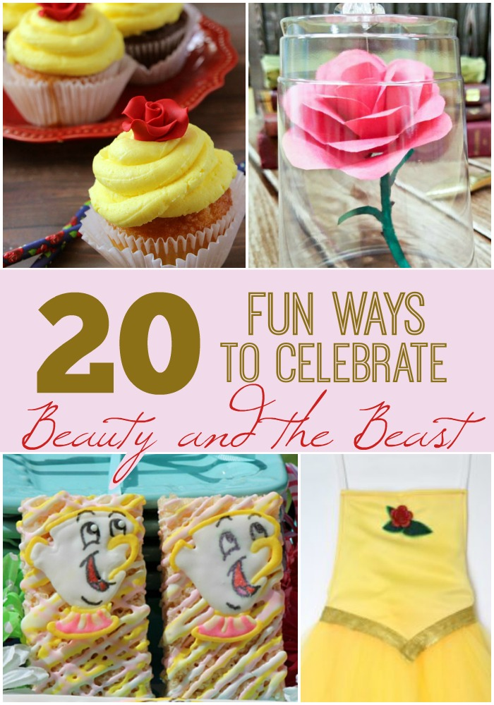 20 Fun and Creative Ways to Celebrate Beauty and the Beast