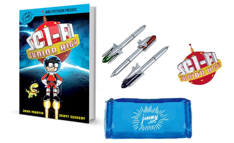 Sci-Fi Junior High Giveaway