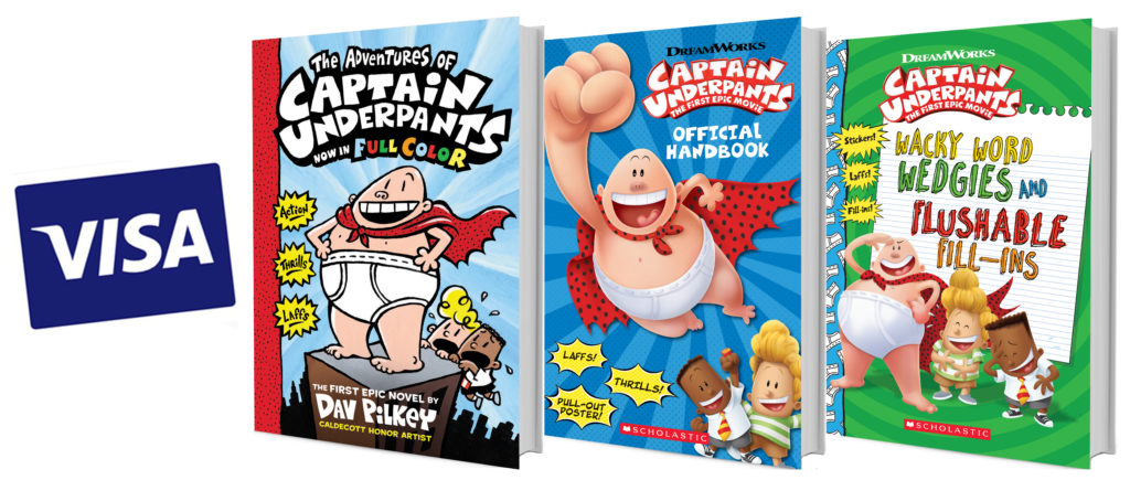 Captain Underpants: The First Epic Movie Giveaway!